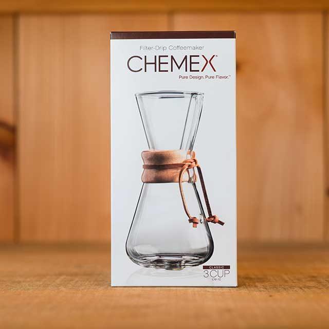 classic chemex 3 cup box
